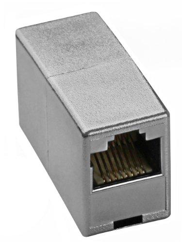 mumbi Netzwerkkabel Verbinder – Modular Kupplung / Adapter für CAT5e Kabel – Netzwerkverbinder