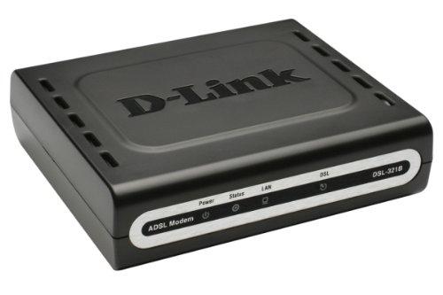 D-Link DSL-321B/DE Modem ADSL2+ 10/100Mbit/s LAN Port