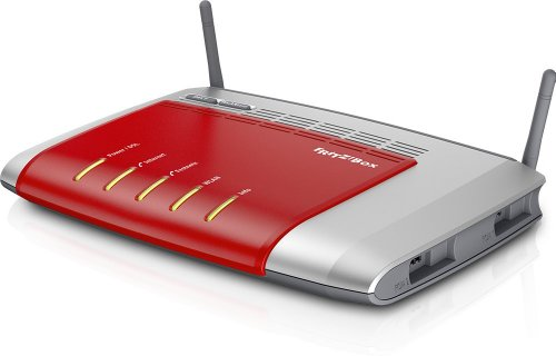 AVM FRITZ!Box 7272 Wlan Router (ADSL, 450 Mbit/s, DECT-Basis, Media Server) internationale version