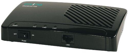 Axing EOC 1-01 Ethernet over Coax Netzwerk via Koaxialkabel Einzeladapter (500Mbps)