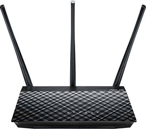Asus RT-AC53 AC750 Dual-Band 802.11ac WLAN Router (Gigabit LAN/WAN, 8x SSID, AiRadar)