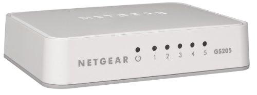 NETGEAR GS205-100PES Gigabit Unmanaged Switch (5-Port)